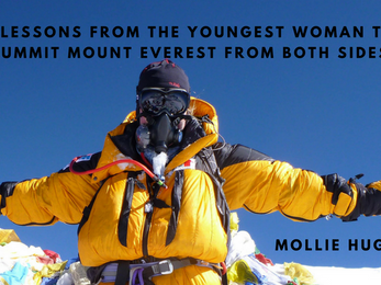 6 Lessons from the Youngest Woman to Summit Mount Everest From Both Sides