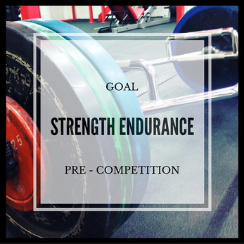 Strength Endurance - Session One