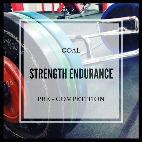 Strength Endurance - Session 3