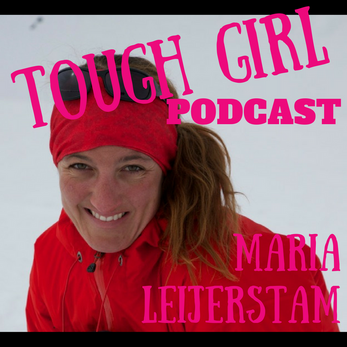 Tough Girl - Maria Leijerstam is a Welsh British polar adventurer who was the first person to cycle