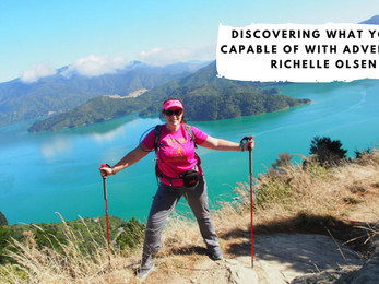 Discovering What You're Capable of with Adventurer Richelle Olsen