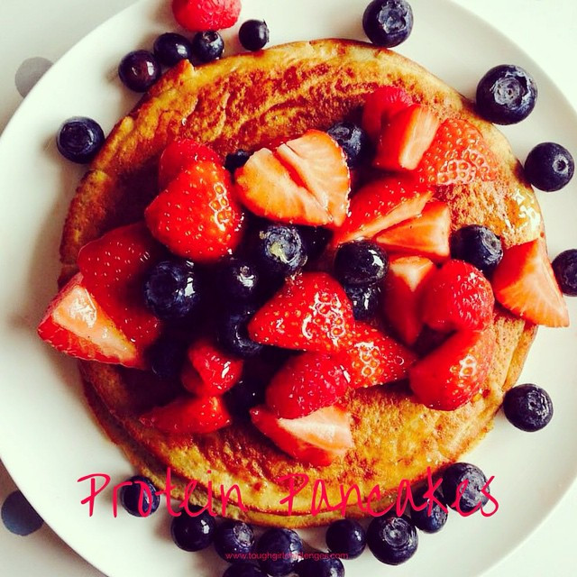 Instagram - ❤️PROTEIN PANCAKES❤️ Just what you need after a big #gymsession! #pr