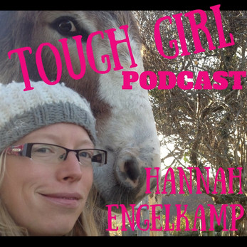Tough Girl - Hannah Engelkamp - Walked the 1000-mile circumference of Wales with Chico the donkey!