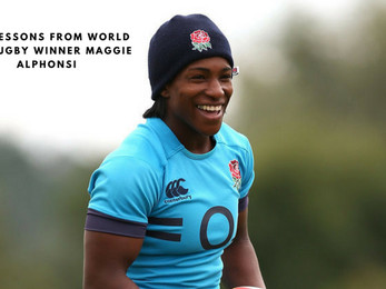 Life Lessons from World Cup Rugby Winner Maggie Alphonsi