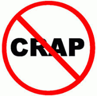 Cut the CRAP! (caffeine, refined sugar, alcohol and processed foods)