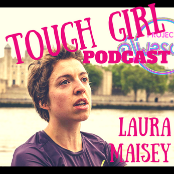 Laura Maisey -  In September 2016, she ran from Rome to London, a journey of 1,249 miles.