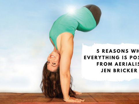 5 Reasons Why Everything is Possible from Aerialist Jen Bricker Born Without Legs