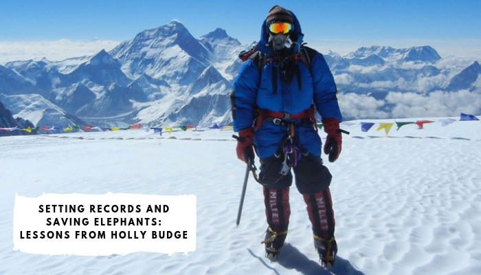 Holly Budge - Adventurer & Conservationist - Summited Mt. Everest & holds 2 World Records - 1st women to Skydive Mt. Everest & raced 1000kms across Mongolia on Horseback!