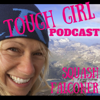 Squash Falconer - 1st British woman to climb & paraglide from the summit of Mount Blanc, having