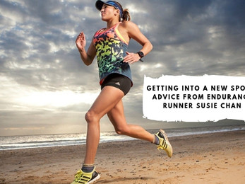 Getting into a New Sport: Advice from Endurance Runner Susie Chan