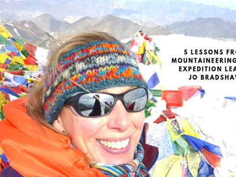 5 Lessons from Mountaineering with Expedition Leader Jo Bradshaw