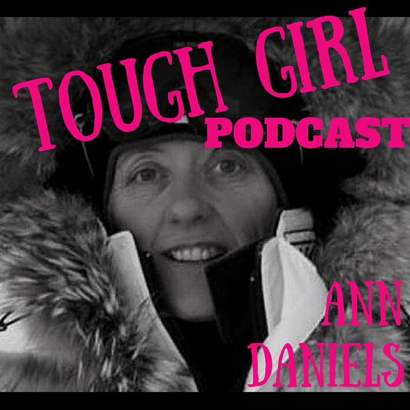 Ann Daniels - first woman in history to ski to the North and South Poles as part of all women teams.