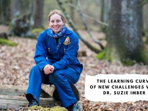 The Learning Curve of New Challenges with Dr. Suzie Imber