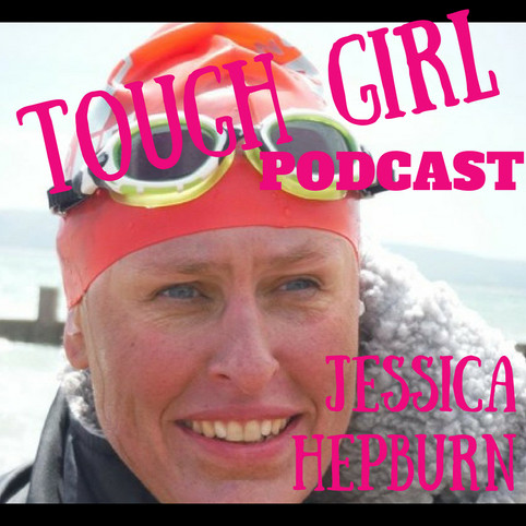 Jessica Hepburn - Author of 21 Miles and The Pursuit of Motherhood. She's swan the English Channel..