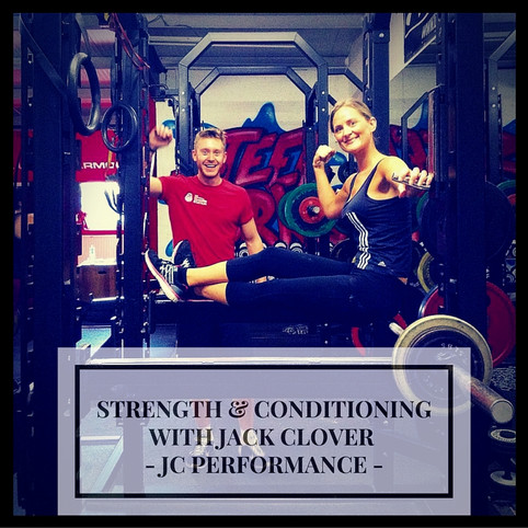 Strength & Conditioning - Session 9