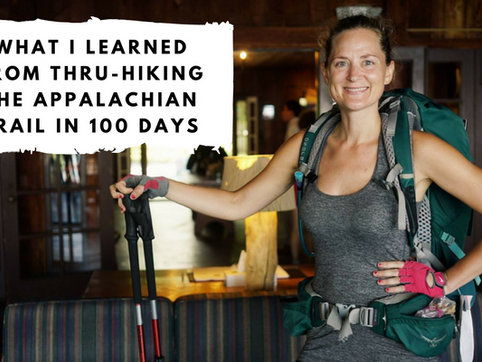 What I Learned From Thru-Hiking the Appalachian Trail in 100 Days