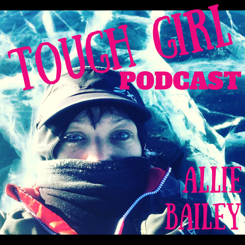 Tough Girl - Allie Bailey - has run over 60 races, from half marathons to 100 mile ultras & in January she became the 1st women to run across a 100 mile wide froze lake in Mongolia!