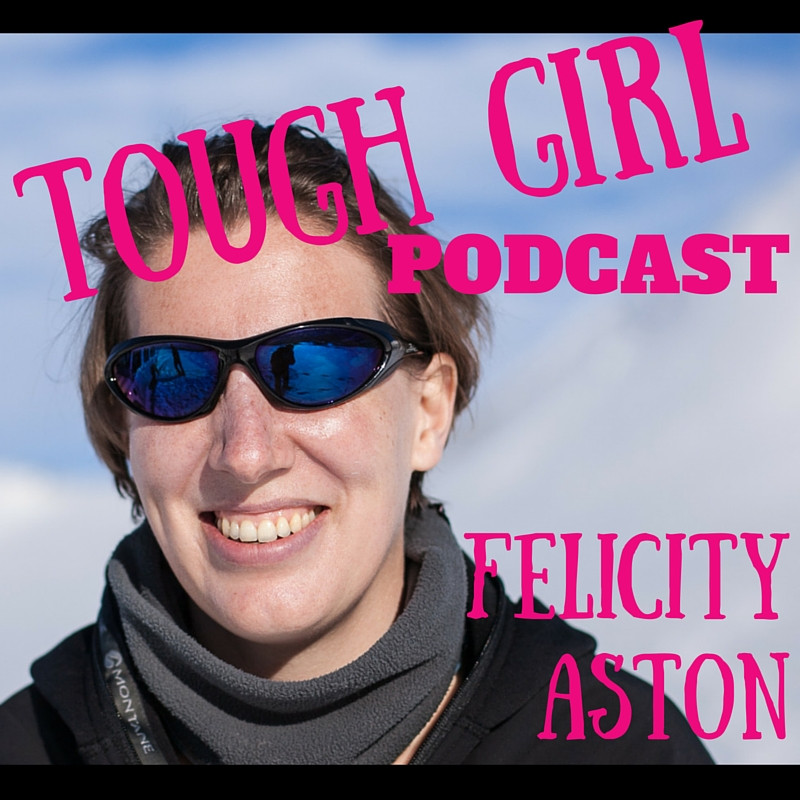 Felicity Ashton MBE - first woman to ski alone across Antarctic.