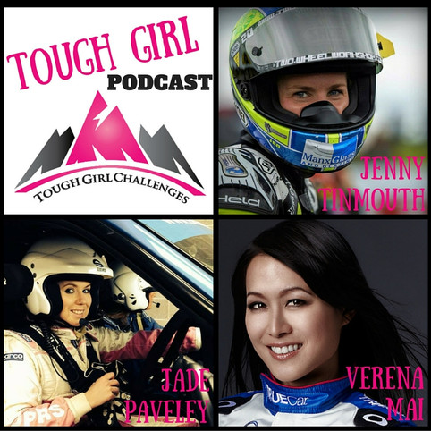 March is Motorsports Month on the Tough Girl Podcast!