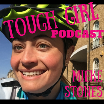 """Tough Girl - Mieke Stones  """"Powered By Me"""" - A year-long human-powered lifestyleadventure"""