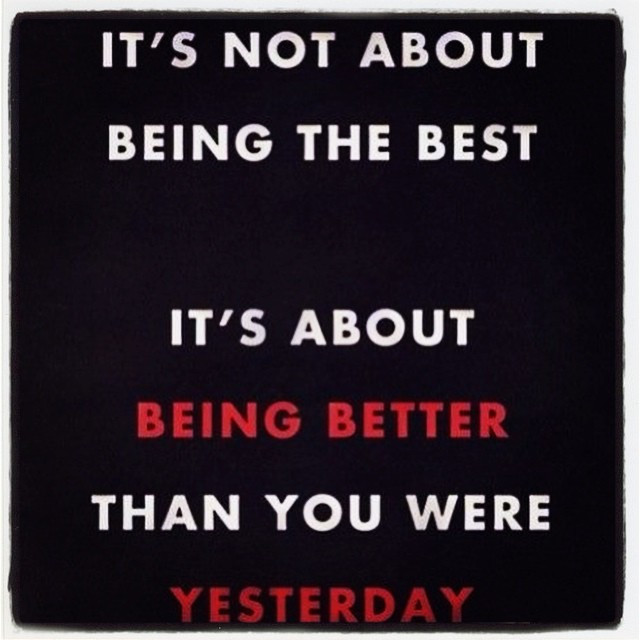 Instagram - 100% agree!!! #gettingfitter #gettingstronger #gettingbetter #doingi