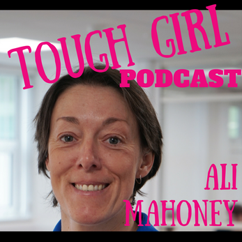 Tough Girl - Ali Mahoney - Sport Psychology Coach who rode a bike 767 miles from South Wales to Cham