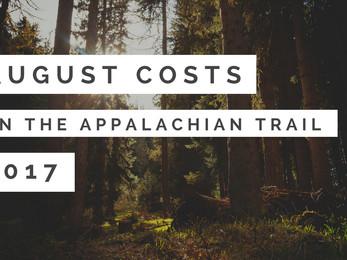 August Costs - Appalachian Trail