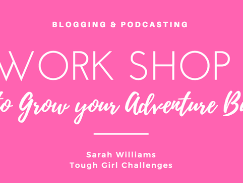Workshop - How to build your adventure business - blogging & podcasting!