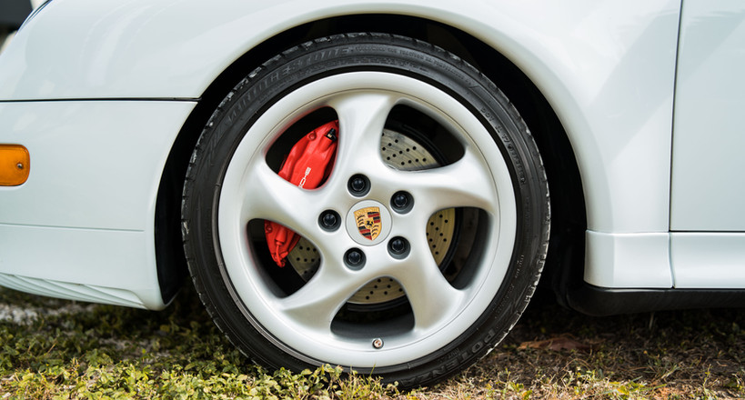 White 993 Turbo