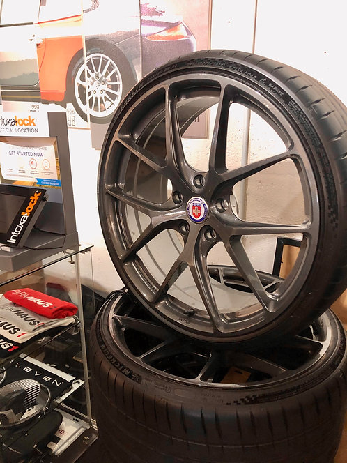 HRE Wheels P101SC Series with Michelin Tires