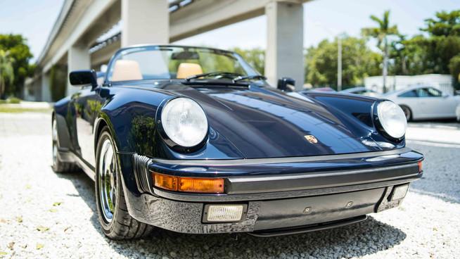3500 mile 911 Speedster