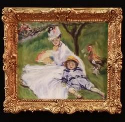 Camille Monet & Her Son