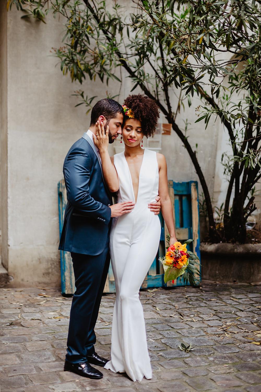 Photographe de mariage tropical
