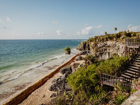 Voyage au Mexique sur la côte de Quintana Roo