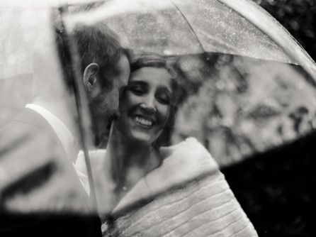 Et en cas de pluie à votre mariage ?