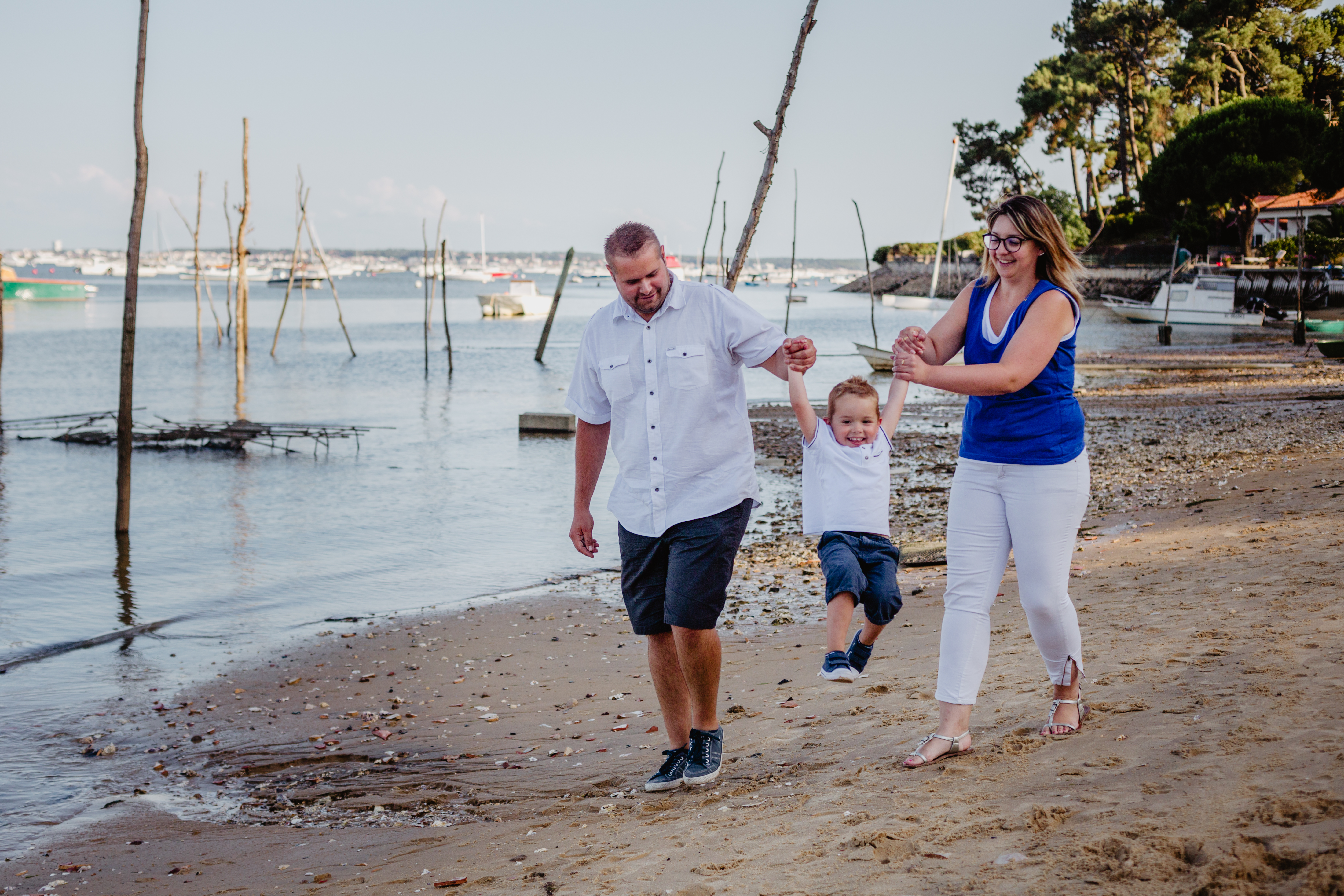 Shooting famille bassin d'arcachon