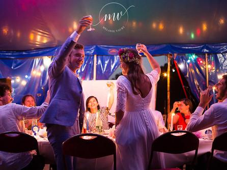 Mariage Bohème Chic dans un Chapiteau - Oise