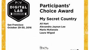Participants Choice Award Winner