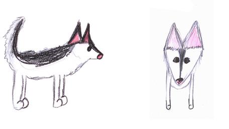 Character Design - Milou, Devil Man & Bem