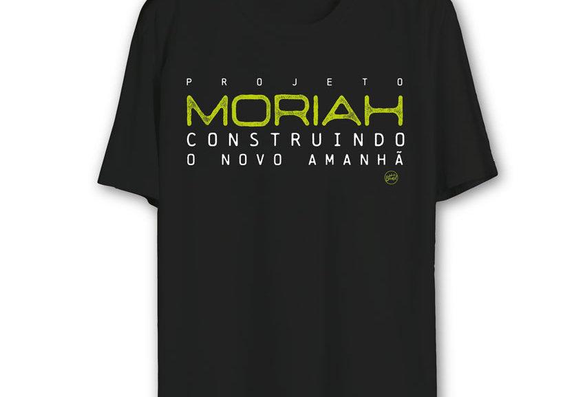 Camiseta Oficial MORIAH (PRETA)