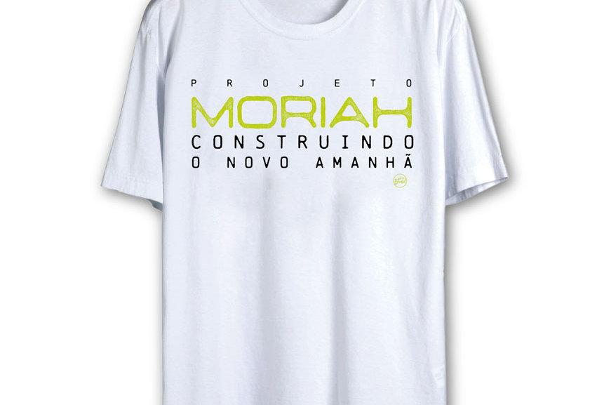 Camiseta Oficial MORIAH (BRANCA)
