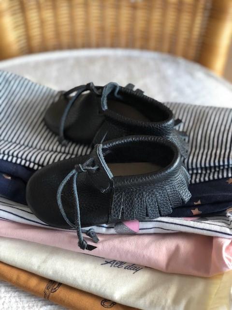 נעלי צעד ראשון שחורות