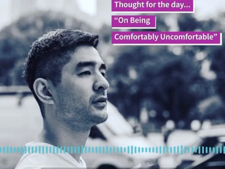 "Check out the latest Kevin's Corner: ""On Being Comfortably Uncomfortable"""