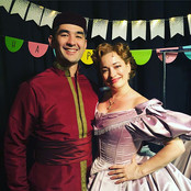 With Anna (Laura Michelle Kelly) from LCT's King and I