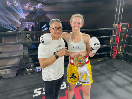 McCLATCHIE, PEACOCK CLAIM CHAMPIONSHIPS AT LION FIGHT 65