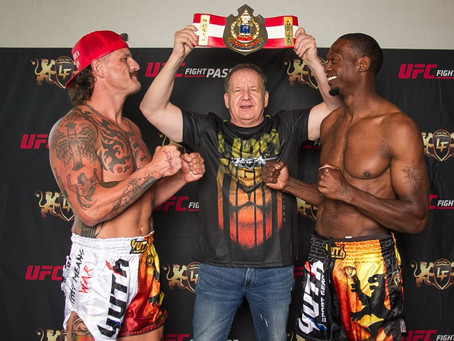 Official Weigh-In results for LION FIGHT 69 on UFC FIGHT PASS