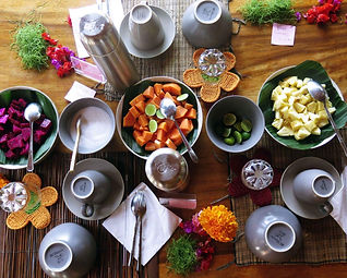 Detox Breakfast Buffet Bali Gaia Retreat