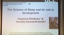 Dr Dagmara Dimitriou and Professor Annette Karmiloff-Smith presented at the 24th Biennial Meeting of