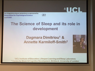 Dr Dagmara Dimitriou and Professor Annette Karmiloff-Smith presented at the 24th Biennial Meeting of
