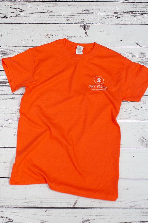 Sky Point Classic T in Orange
